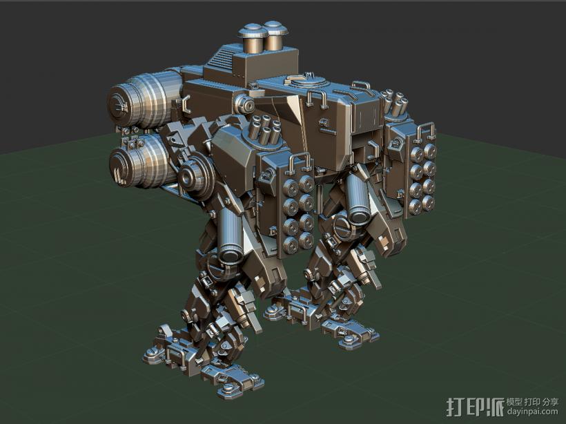 重甲机器 3D模型  图1