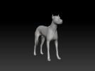 杜宾犬 3D模型 图2