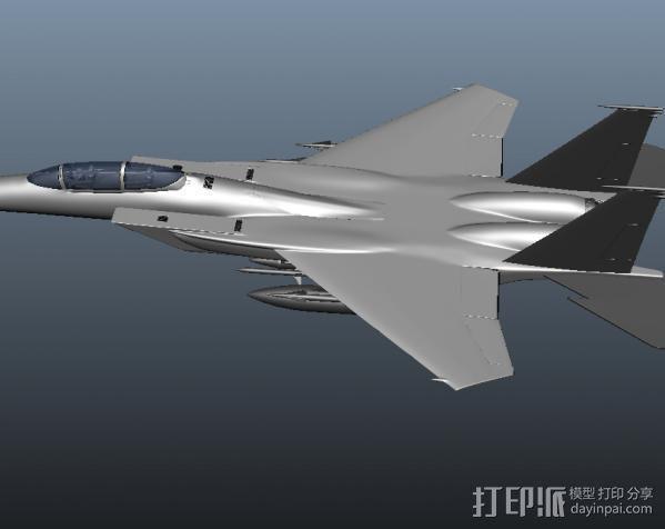 战斗机 3D模型  图1