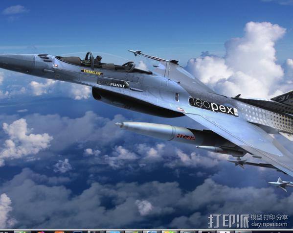 战斗机 3D模型  图2