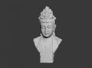 观音胸像 3D模型 图1