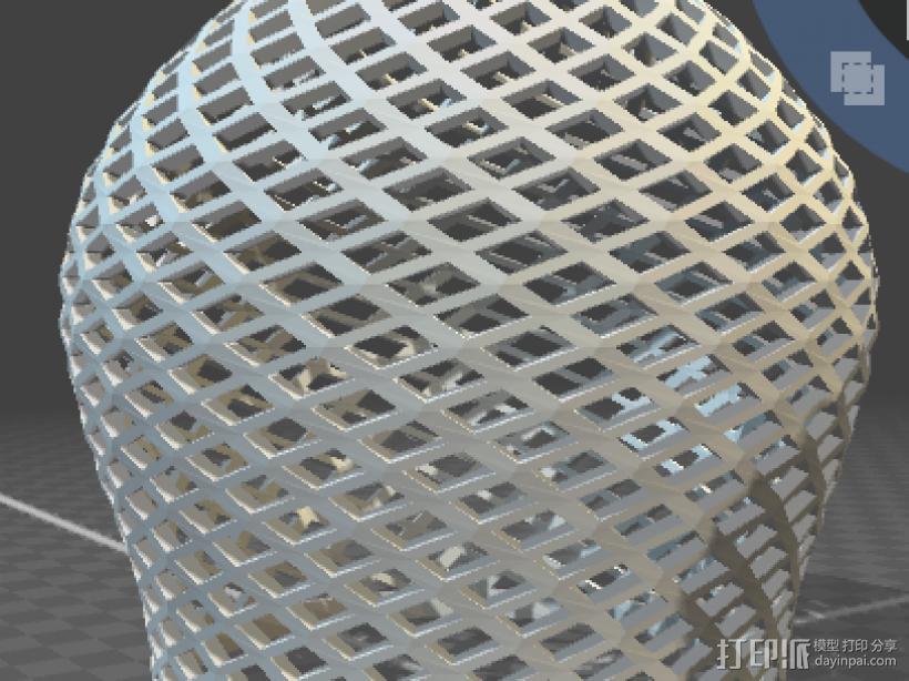 灯罩 3D模型  图1