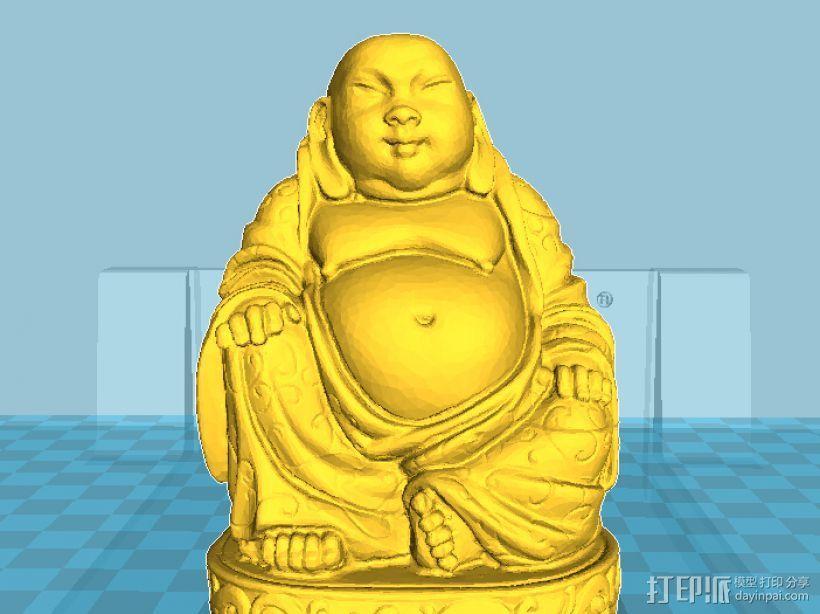 弥勒佛 3D模型  图1