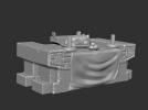 三国演义桃园结义——结拜祭台 3D模型 图3