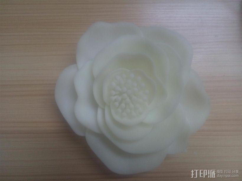 花吊饰 3D模型  图1