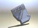 仿人机械手 3D模型 图2