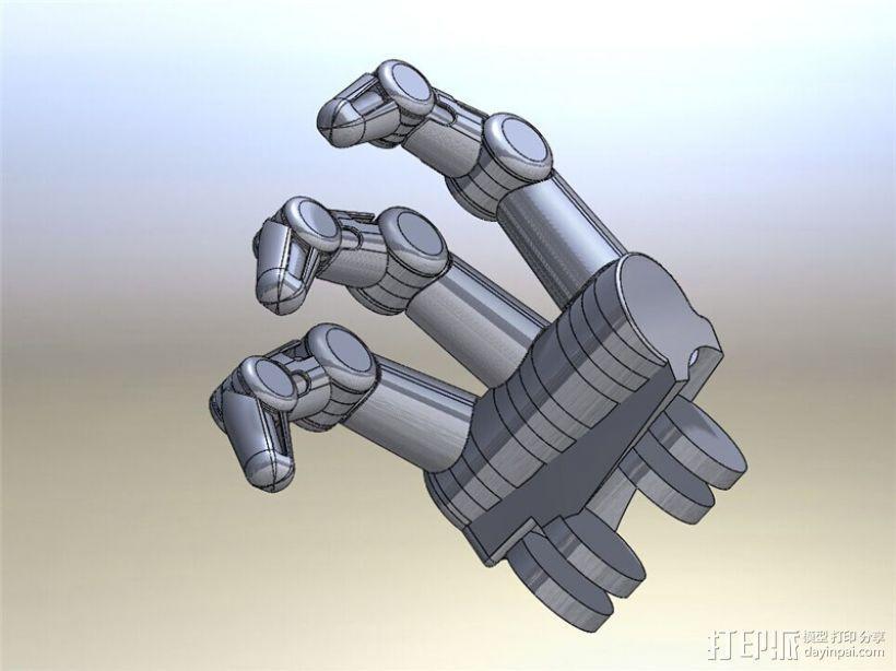 仿人机械手 3D模型  图3