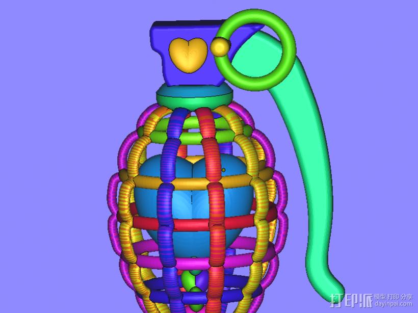 心碎 3D模型  图1