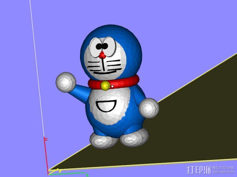 哆啦A梦 郑州三维印像专注3D打印服务 3D模型  图1