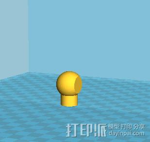 拼接狗狗(可活动)14件拆件 3D模型  图4
