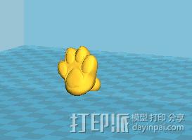 拼接狗狗(可活动)14件拆件 3D模型  图5