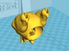 飞龙(可活动带支撑)拆分14件 3D模型 图3