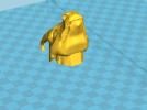 飞龙(可活动带支撑)拆分14件 3D模型 图5