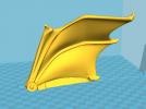 飞龙(可活动带支撑)拆分14件 3D模型 图14