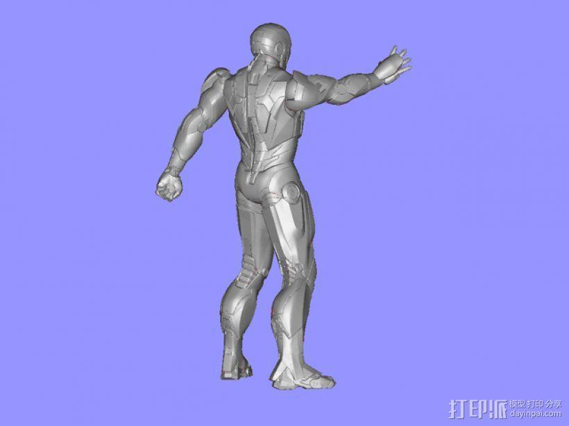钢铁侠 3D模型  图3