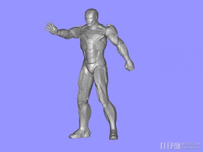 钢铁侠 3D模型  图4