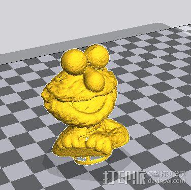 小公仔 3D模型  图1