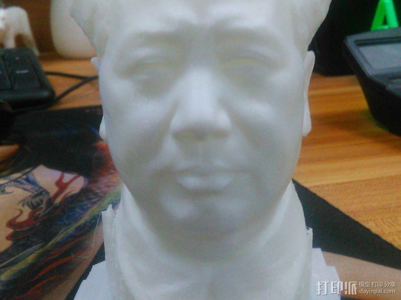 毛爷爷 3D模型  图1