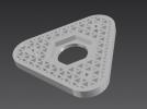 自制3d打印耗材架 3D模型 图2