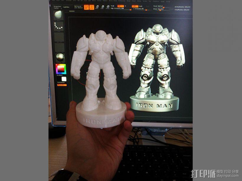 复仇者联盟 钢铁侠 反浩克机甲 3D模型  图6