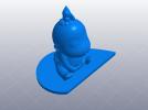 亲嘴娃娃 3D模型 图7