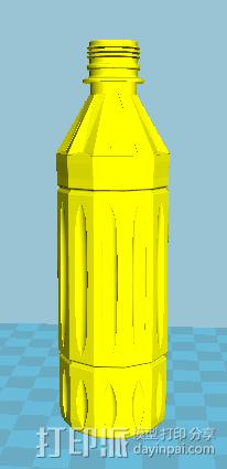 瓶子 3D模型  图2