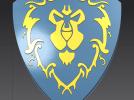 联盟徽章 3D模型 图1