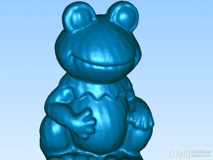 青蛙 3D模型  图1