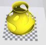 fdm 无需支撑的漂亮花瓶 3D模型 图1
