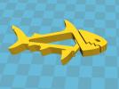 小鱼夹子 3D模型 图3