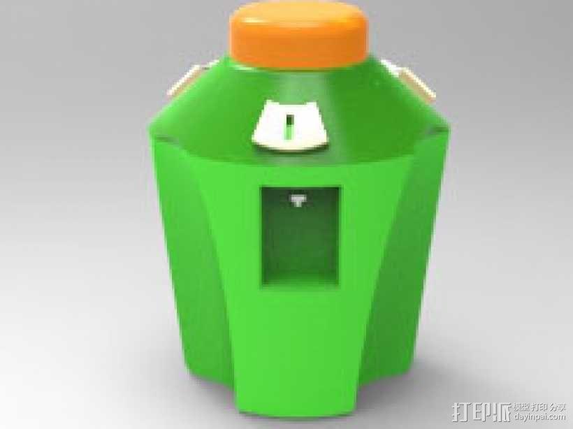 榨汁机 3D模型  图1