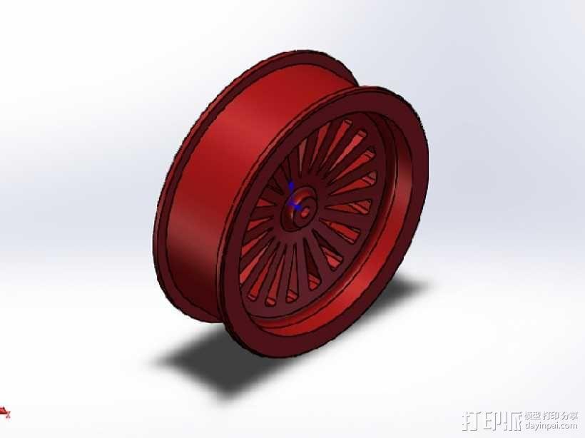 轮毂 3D模型  图1