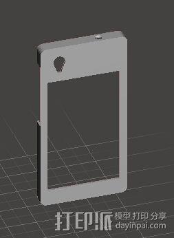 中兴G718C外壳 3D模型  图2