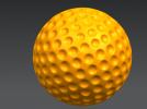 高尔夫球模型 3D模型 图1
