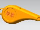 玩具口哨 3D模型 图1