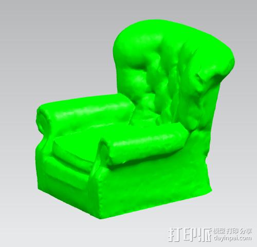 古典风格沙发 3D模型  图1