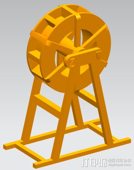 运动水车 3D模型  图2