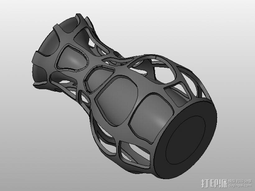 艺术设计花瓶 3D模型  图1