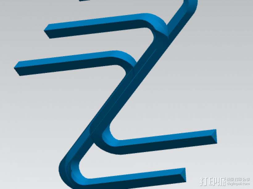 ZW艺术创意设计 3D模型  图1