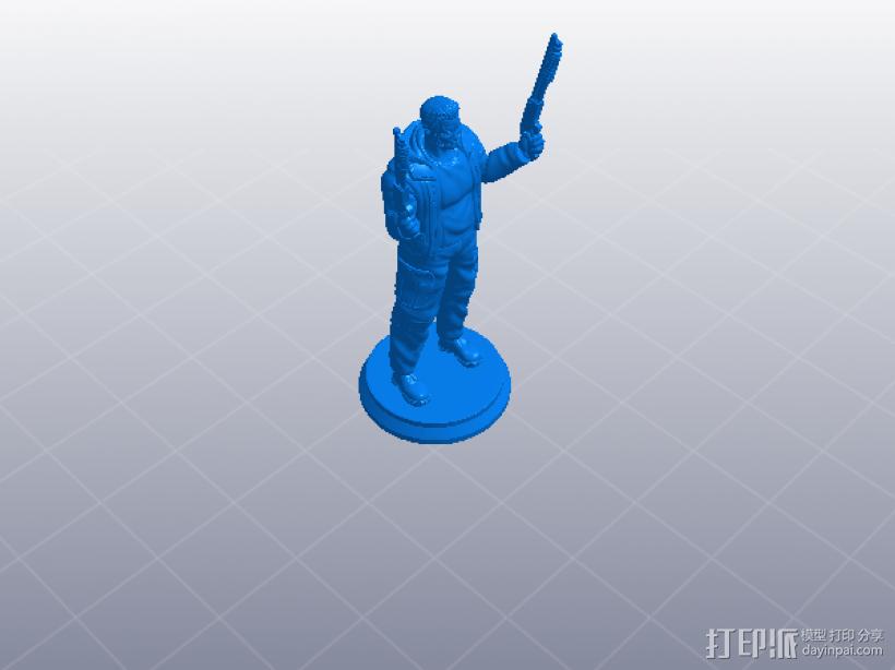 《终结者:创世纪》之T-800 3D模型  图6