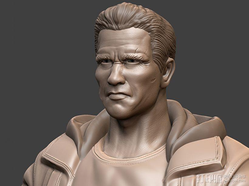 《终结者:创世纪》之T-800 3D模型  图4