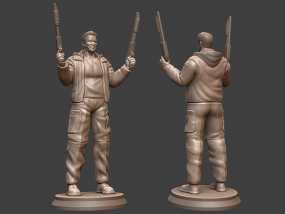 《终结者:创世纪》之T-800 3D模型