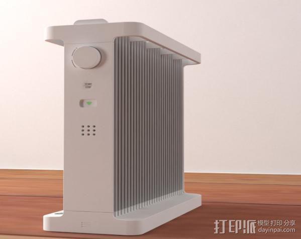 空调机 3D模型  图1