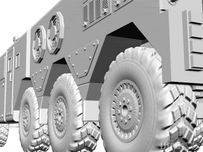 东风21导弹  3D模型  图4