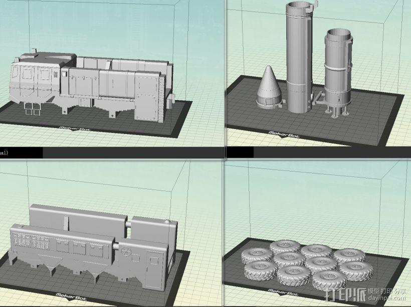 东风21导弹  3D模型  图6