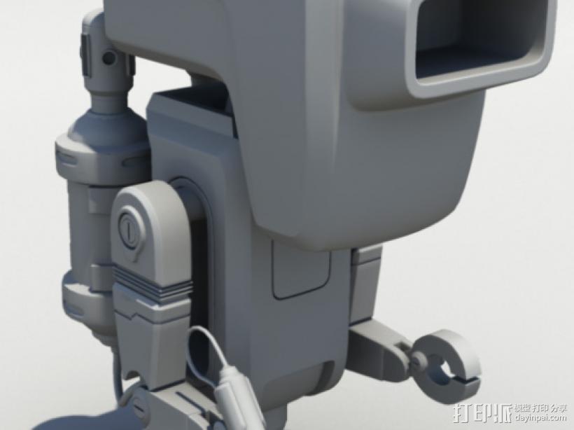 Buer_E机器人 3D模型  图1