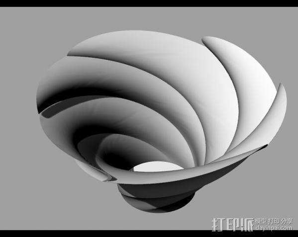 Flower_Vase 3D模型  图1
