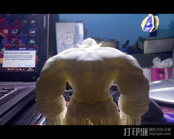肌肉兽人 3D模型  图6