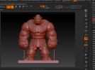 肌肉兽人 3D模型 图2