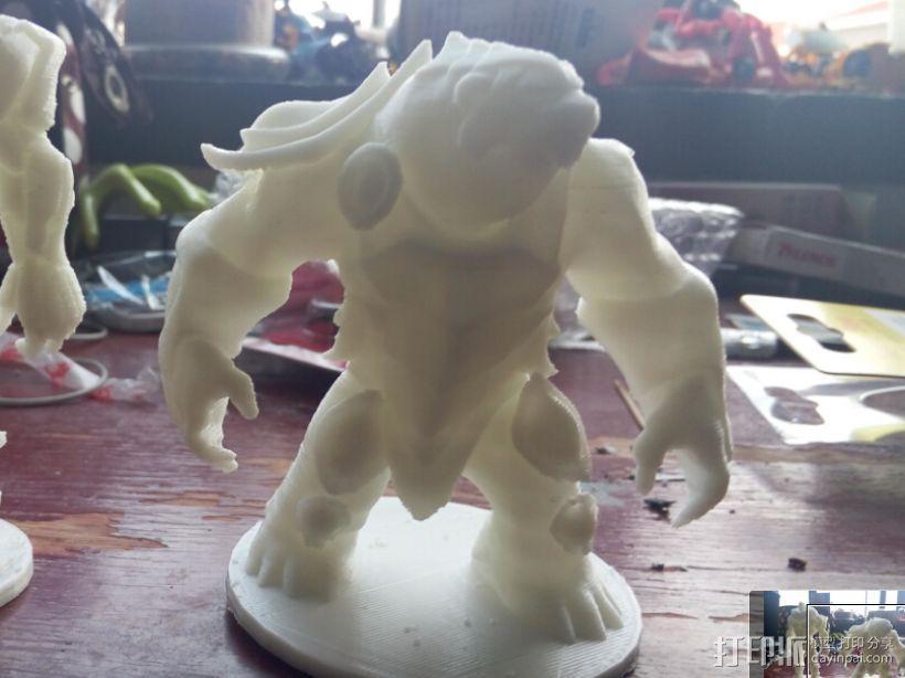 大熊熊 英雄联盟系列可以直接打印 3D模型  图3